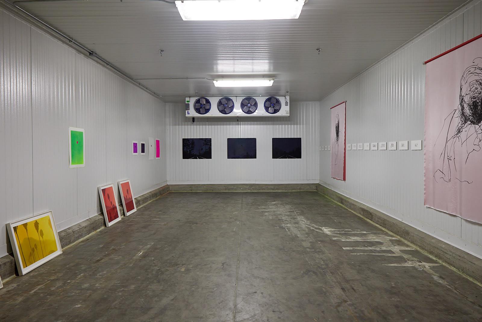 Installation view, Clara Montoya and Nicholas Woods