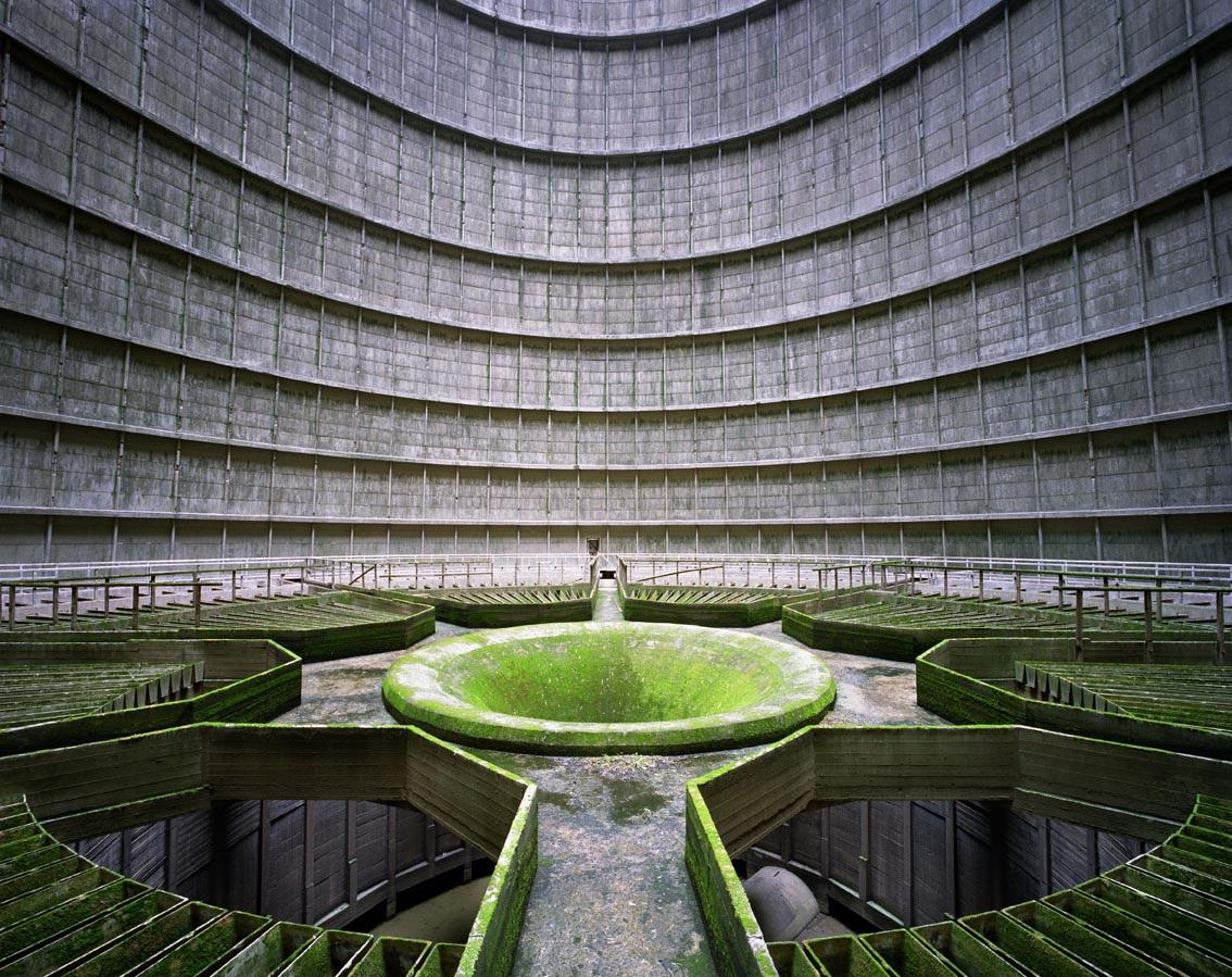 Yves Marchand & Romain Meffre,  Cooling Tower, Power Plant, Monceau-sur-Sambre, Belgium , 2011