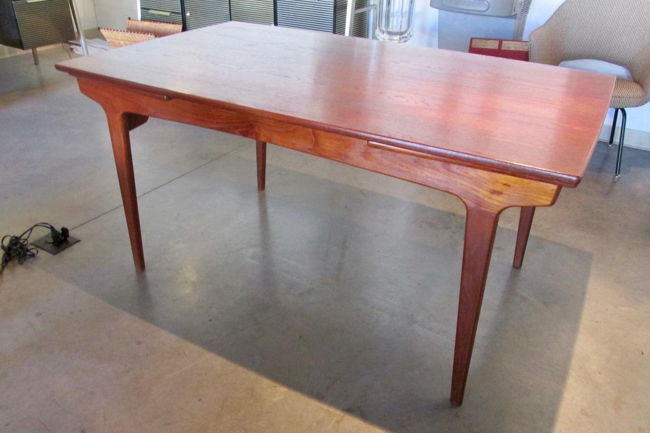 Danish Funder Schmidt Madsen Teak Extension Dining Table