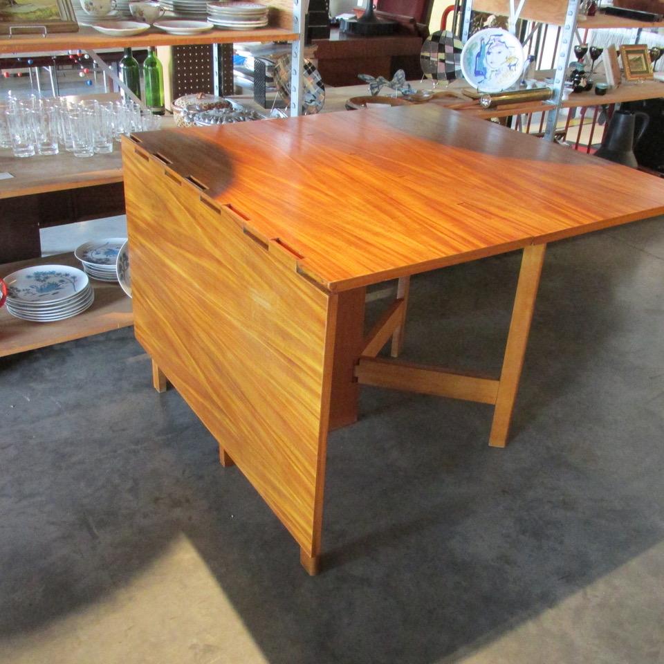 George Nelson Model #4656 Gate Leg Dining Table