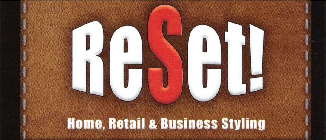 Reset! by Steve Hedrick; Home, Retail & Business Styling