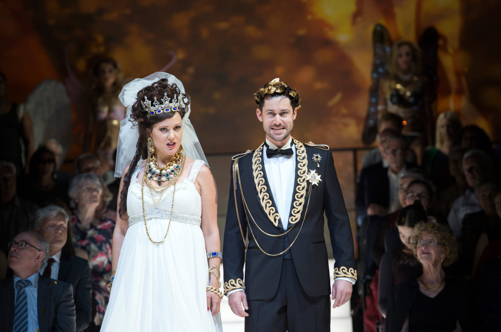 Oper Zürich – L'incoronazione di Poppea – 2018 – © Monika Rittershaus