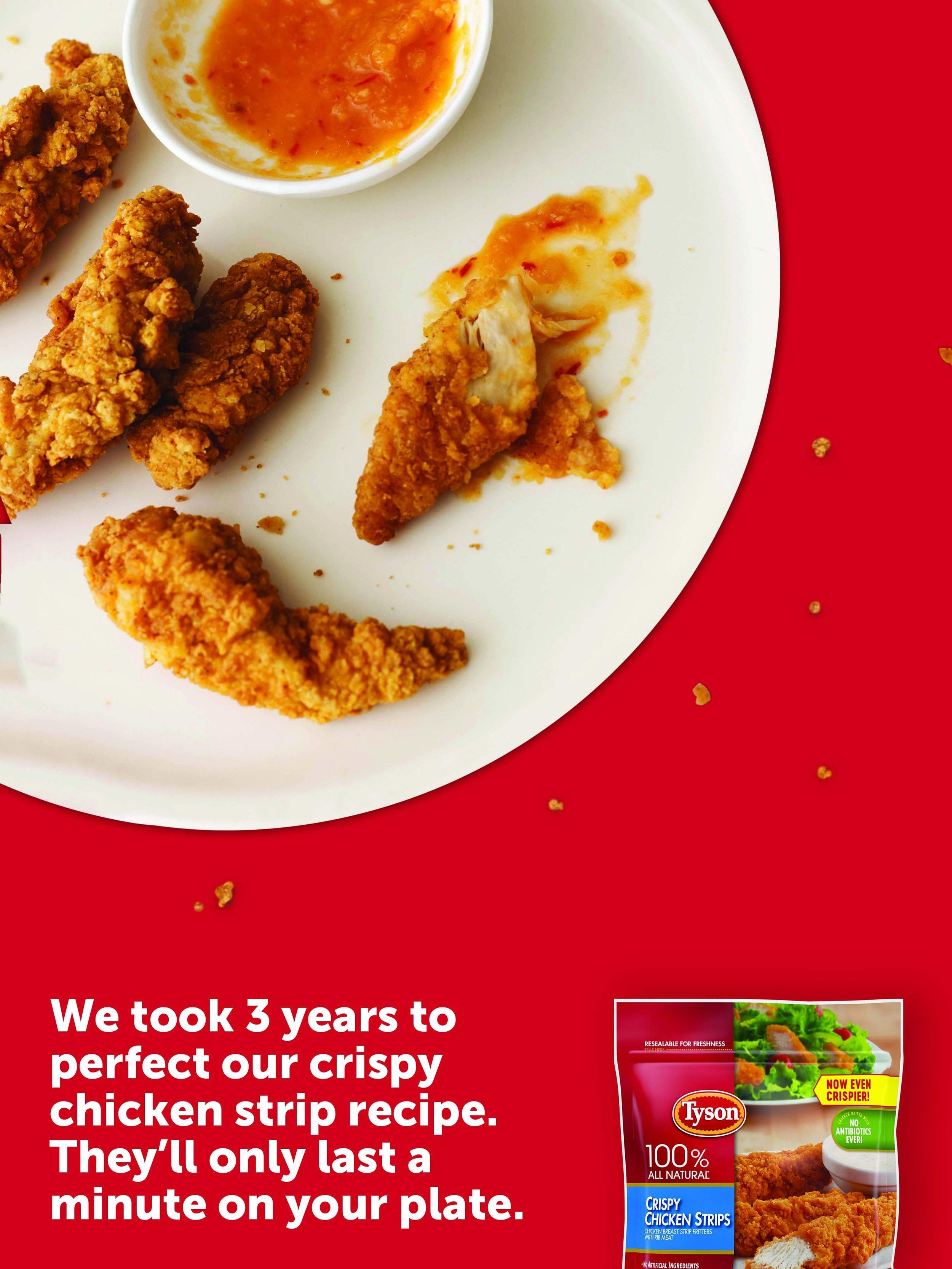 Tyson Crispy Chicken Strips Victoria Durand