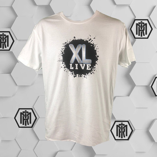 Fresh run of shirts for some hard working individuals over at @xlhbg. Call or message us for a custom quote for your apparel needs! #clubxl #xlhbg #rockmill #tshirts #rmi #rockmillindustries #rockmillink #screenprinting