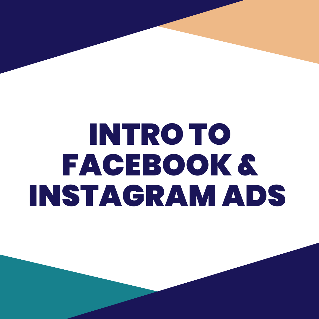INTRO TO FACEBOOK & INSTAGRAM ADS - #NotAPaidAd - At some point in your businesses lifespan, you will have to advertise. The great news is that Facebook makes it super easy to target your ideal customers with the social posts you are already doing. Learn how in this class.Previously Recorded.