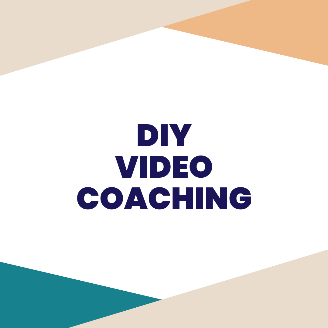 diy video coaching - On a budget, and looking to