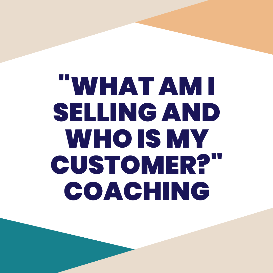 what am i selling and who is my customer? - We've all been there. We have gone so far down the road with our innovative idea, that we lose sight of exactly what we are selling and who are our customers? If this resonates with you, book this session and we will help get you on track.