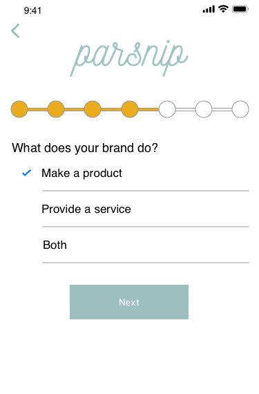 Recognizing that different brands have different needs - We want to recognize that brands that do different things have different needs and we want this registration process to reflect those needs, no matter how subtle the difference.