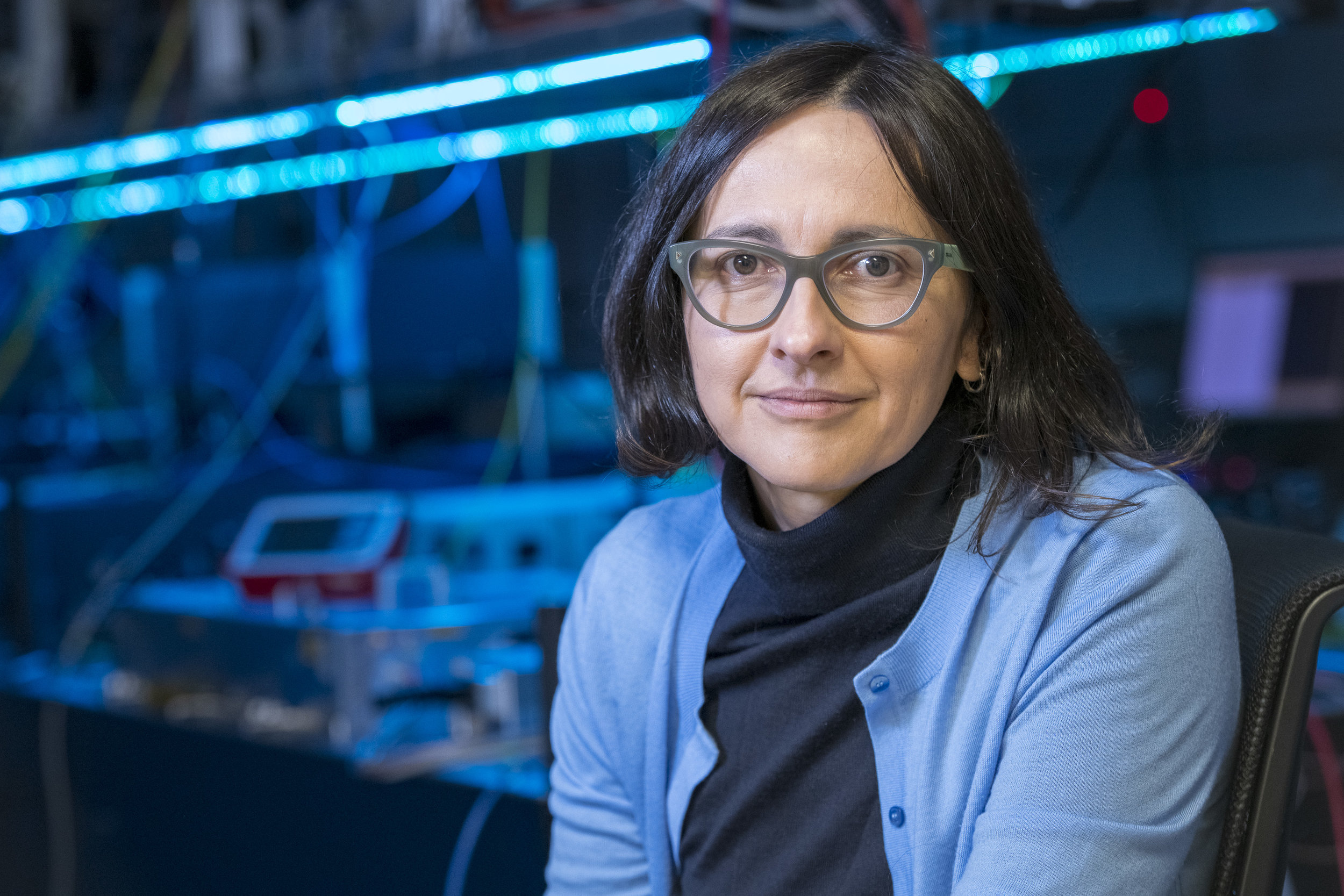 Dr. Jelena Vuckovic (PhD Caltech 2002) is a Professor of Electrical Engineering and by courtesy of Applied Physics at Stanford, where she leads the  Nanoscale and Quantum Photonics Lab . She is also the director of the Q-FARM: the Stanford-SLAC Quantum Initiative. Vuckovic has won numerous prizes including the Humboldt Prize, the Hans Fischer Senior Fellowship, the DARPA Young Faculty Award, the Presidential Early Career Award for Scientists and Engineers, and the Office of Naval Research Young Investigator Award. She is a Distinguished Scholar of the Max Planck Institute for Quantum Optics, Fellow of the American Physical Society (APS), of the Optical Society of America (OSA), and of the Institute of Electronics and Electrical Engineers (IEEE).