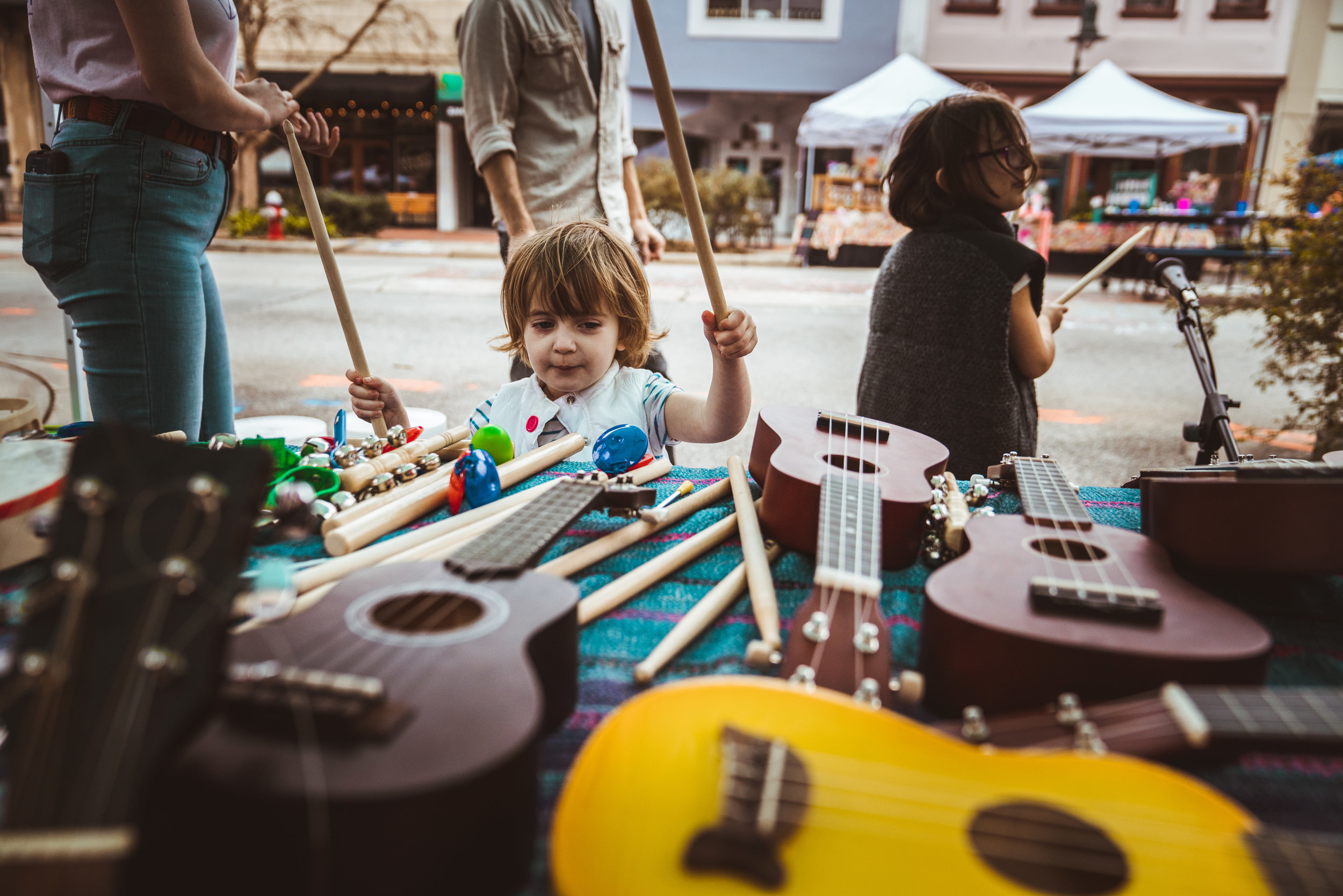 Kids Block station by Paul Chelmis
