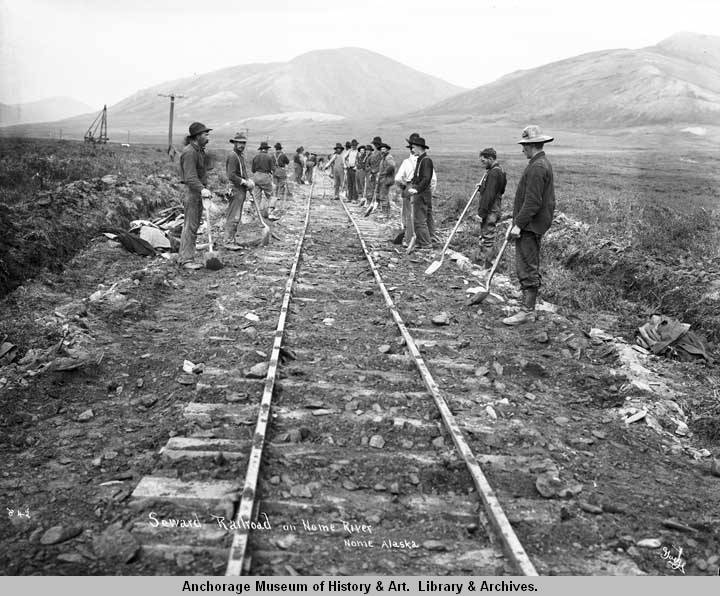 Seward Railroad on Nome River, Nome, Alaska..jpg