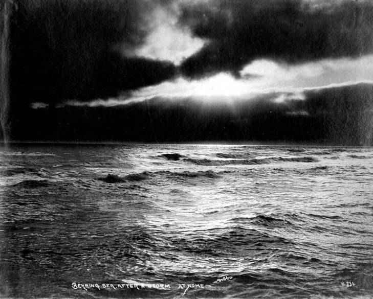 Bering Sea after a storm, Nome, Alaska, between 1900 and 1910.jpg