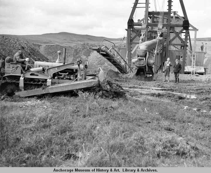 Dredge operation near Nome. 1938.jpg
