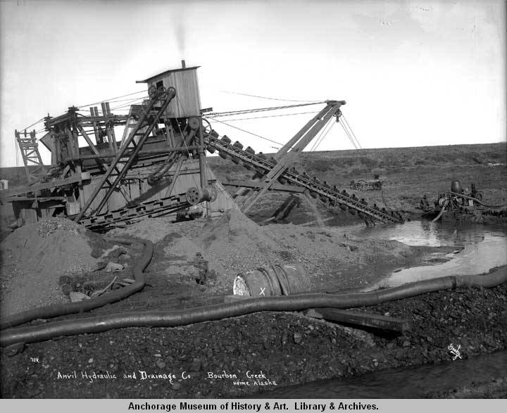 Anvil Hydraulic and Drainage Co., Bourbon Creek, Nome, Alaska..jpg