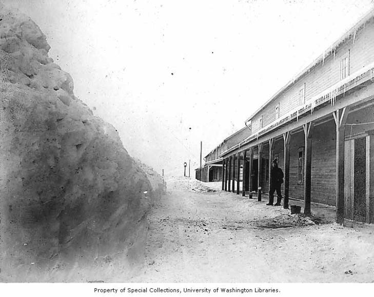 Buildings and deep snow, Fort Davis.jpg