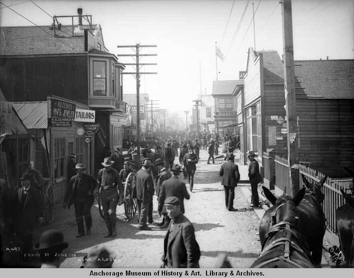 Front St., June 18, Nome, Alaska. 1903.jpg