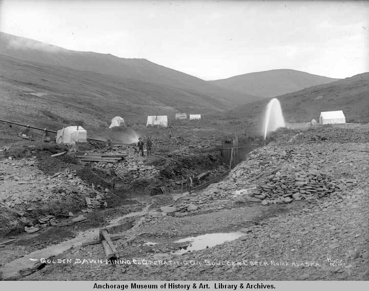 Golden Dawn Mining Co. operating on Boulder Creek, Nome, Alaska..jpg