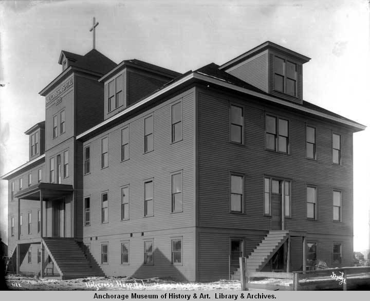 Holycross [sic] Hospital, Nome, Alaska..jpg