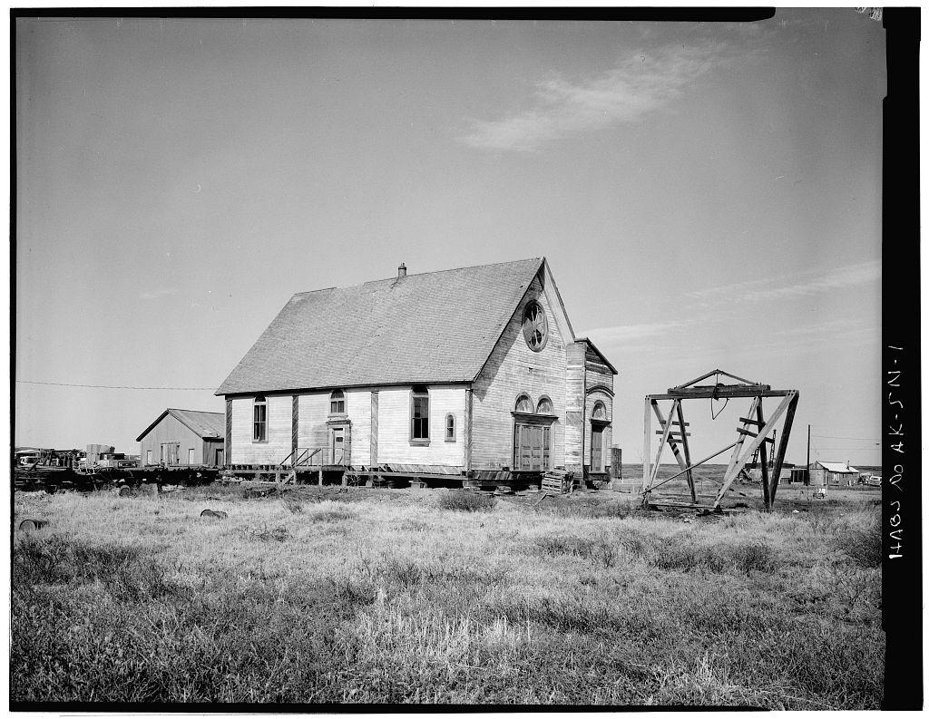 Iditarod Trail Shelter Cabins, St. Joseph's Roman Catholic Church,.jpg