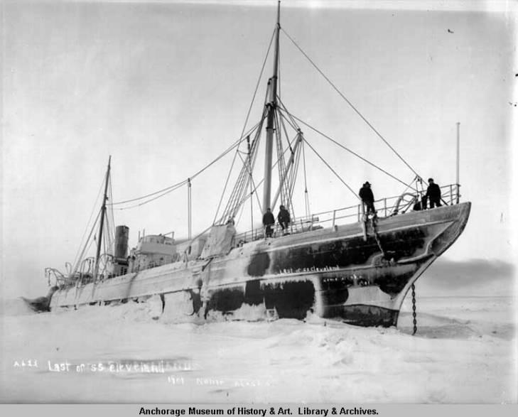 Last of S.S. Cleveland, 1901, Nome, Alaska..jpg