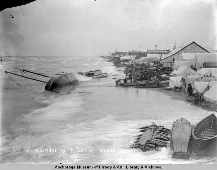 Remainder of a storm, Nome Beach, Alaska.jpg