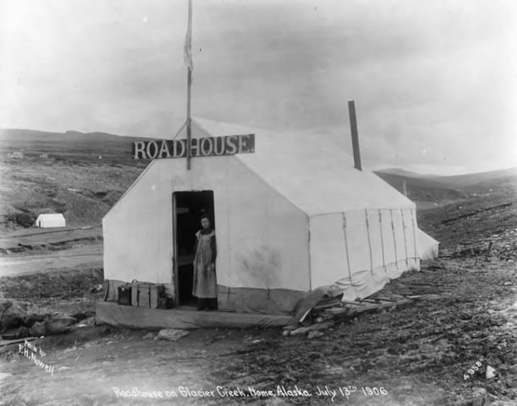 Roadhouse on Glacier Creek, Nome, Alaska, July 13, 1906.jpg