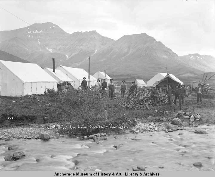 Seward Ditch Co. camp, Sawtooth Mountain..jpg