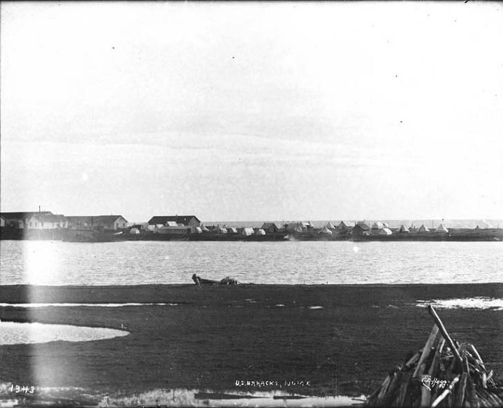 U.S. Army barracks, Nome, Alaska, ca. 1900..jpg