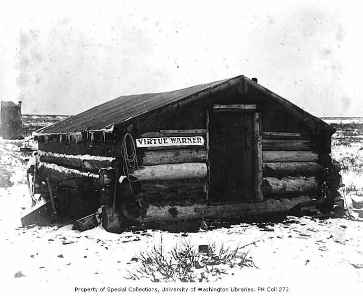 Virtue Warner log cabin, Nome, ca. 1899.jpg