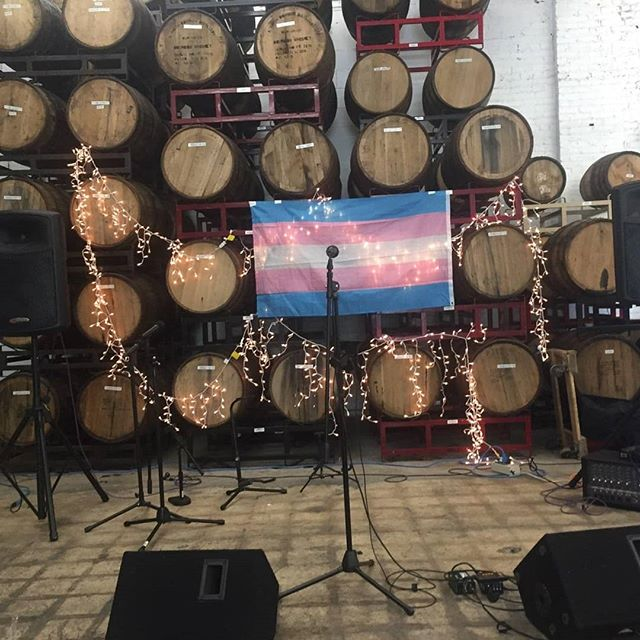 Tonight tonight! Come check out @bmoretransalliance at @charmcitymead for an amazing show featuring Trans musicians and Trans crafters! Food by @bottomsupbagels, and non-alcoholic beverages by @wild_kombucha. See y'all there! #bmoretransalliance #charmcitymeadworks #wildkombucha #gobottomsup