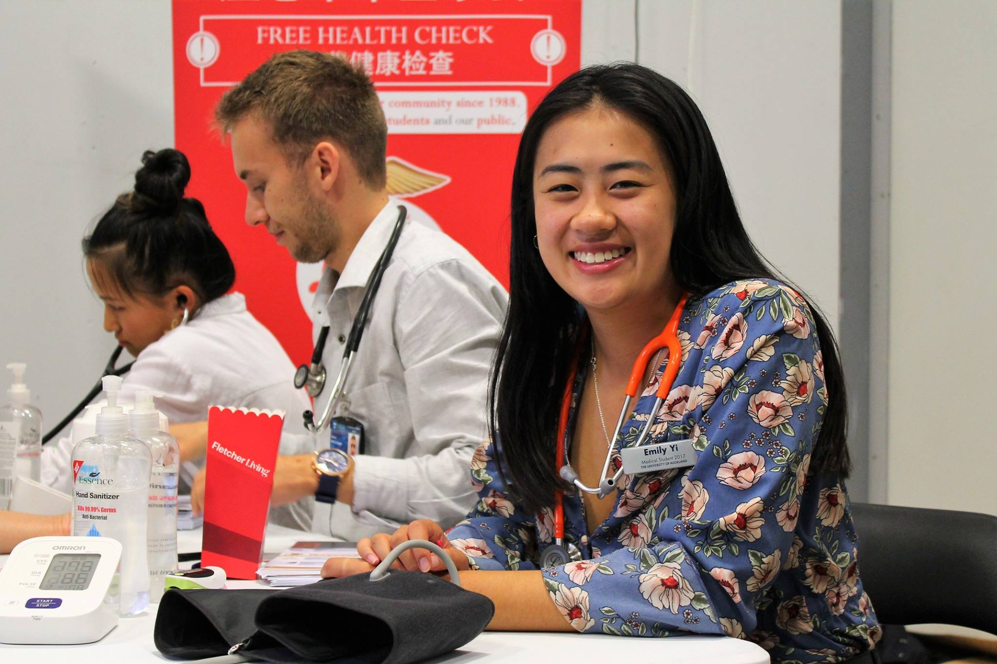 Chinese New Year Health Check Event 1 - Sat 3 February 2018ASB Showgrounds, Green Lane West, Epsom, Akl