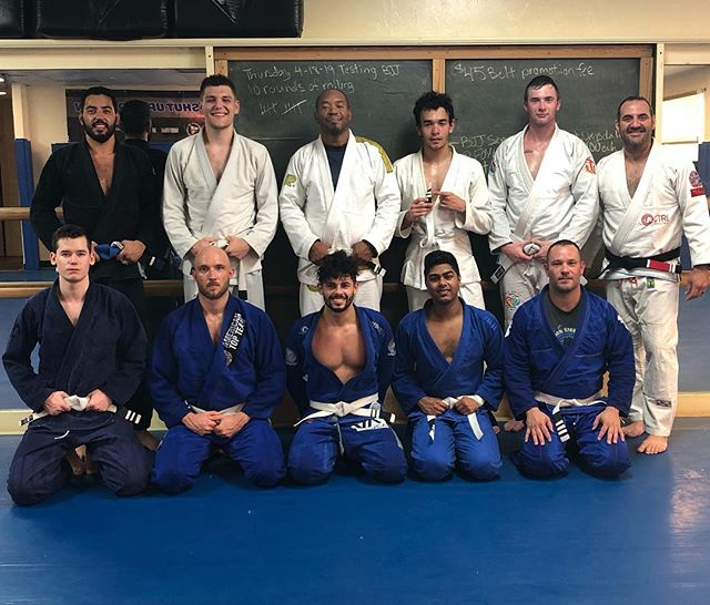 Awesome testing in our morning class! Rolling 10 rounds is where it's at. #zenithbjj #bjj #jiujitsu #growordie #gainesville #oss