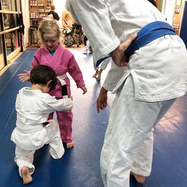 We start our kids at 5 years old in specialized martial arts, including Youth #BJJ and Youth #Judo. (We have Kinder Kicks for ages 3 and 4)! - #bjj #judo #jiujitsu #teachthemyoung #gainesville #youthsports