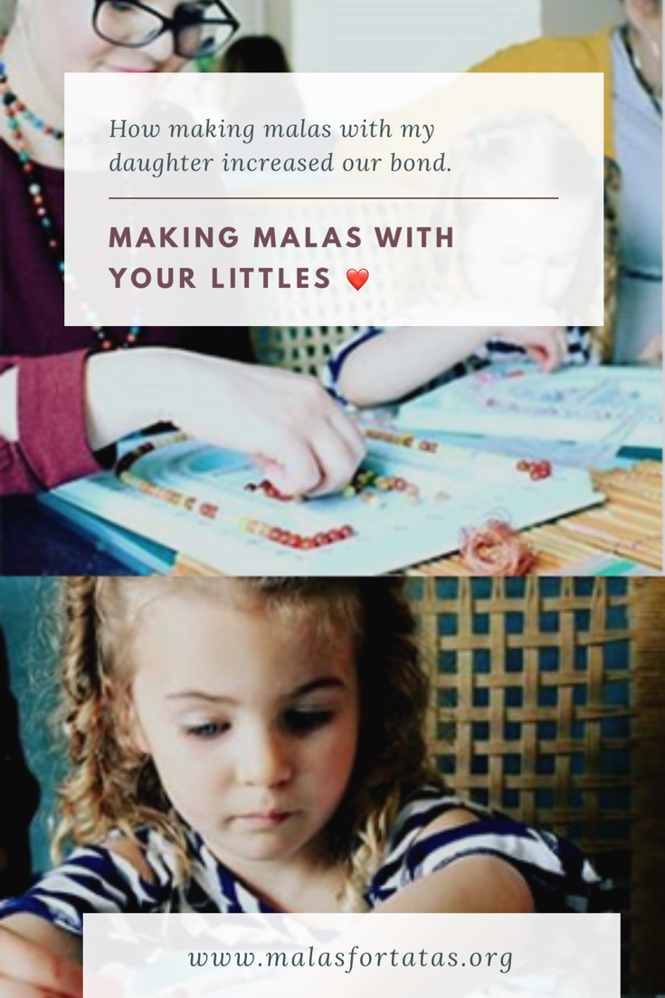 Making Malas with your Littles