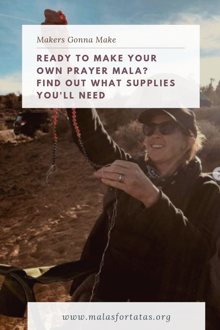 Making your own Prayer Mala