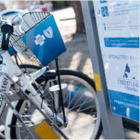 HIGHLIGHT YOUR BRAND ON THE BIKES AND STATIONS - Drive awareness of your brand throughout the community. Associate your brand with health, wellness, sustainability, and community.