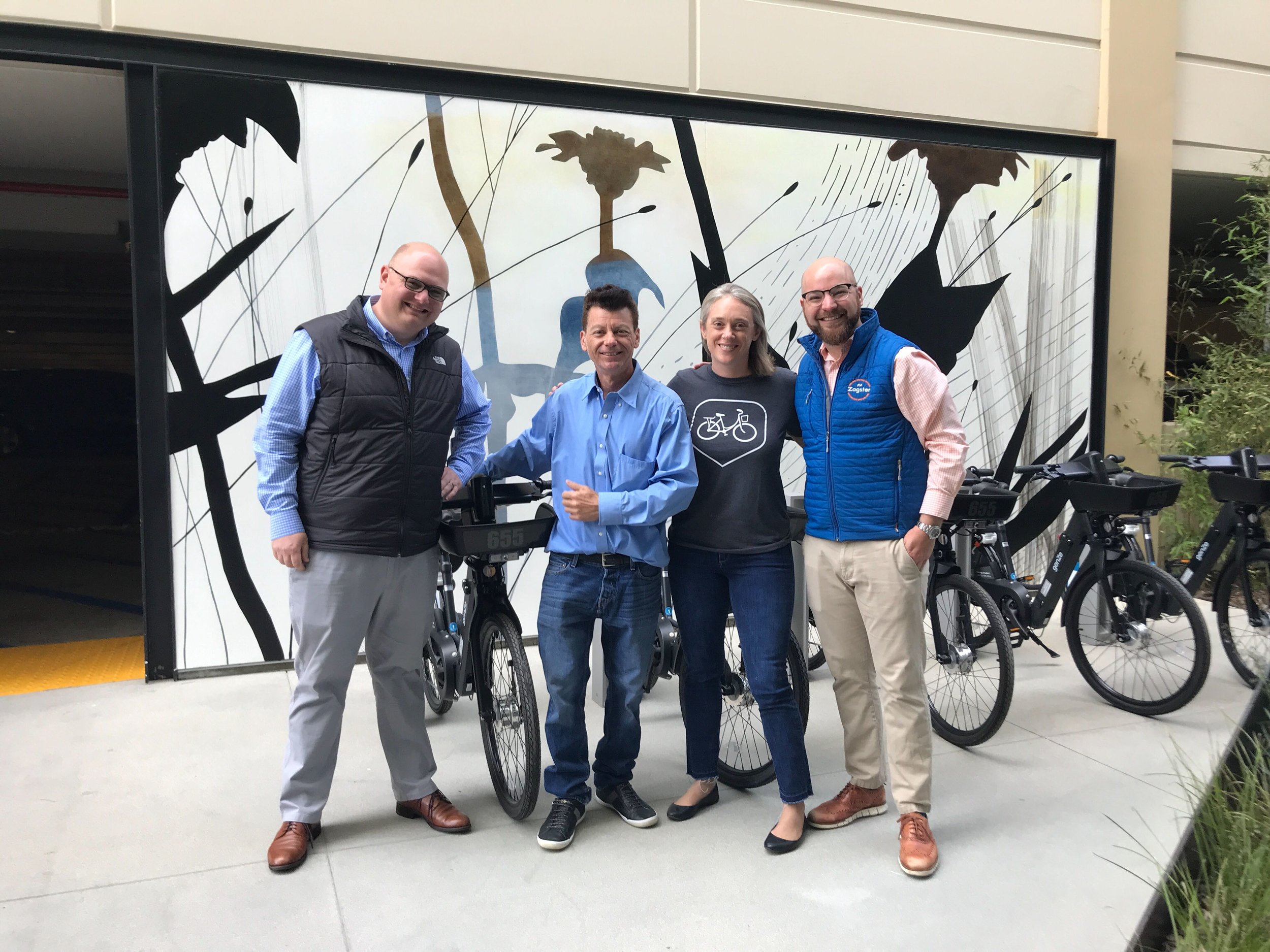 E-bike launch at Divco West
