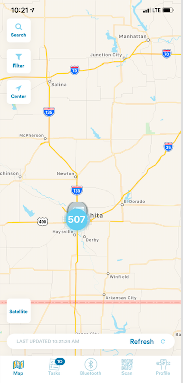 507 scooters are in operations in Wichita, KS