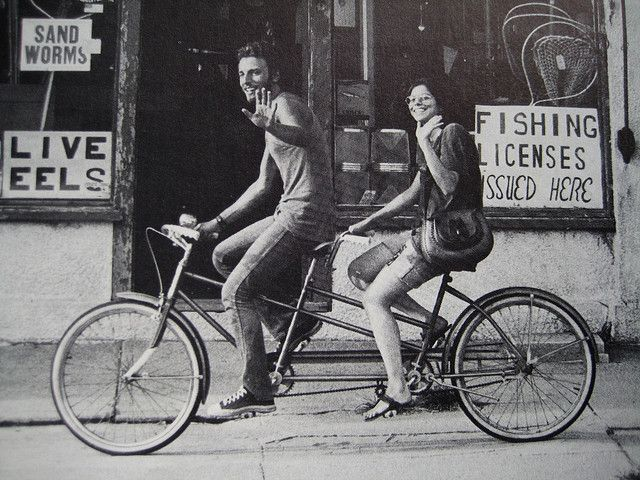 The Boss on a Tandem