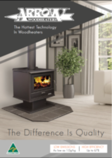 Arrow Wood Heater Brochure