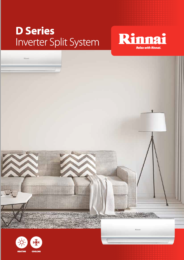 Rinnai D Series splits