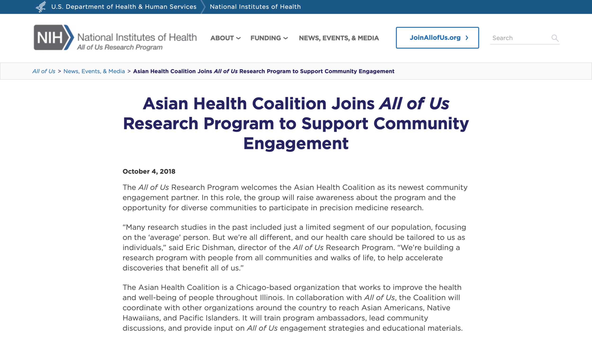 Asian Health Coalition Joins All of Us Research Program to Support Community Engagement.png