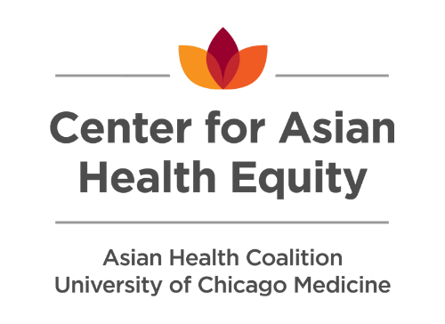 CAHE = UChicago + AHC - CAHE, a partnership between the University of Chicago and Asian Health Coalition, takes a multidisciplinary, collaborative approach to addressing gaps in clinical medicine and public health through a comprehensive program for research, health education, training, community engagement, policy, and information dissemination.