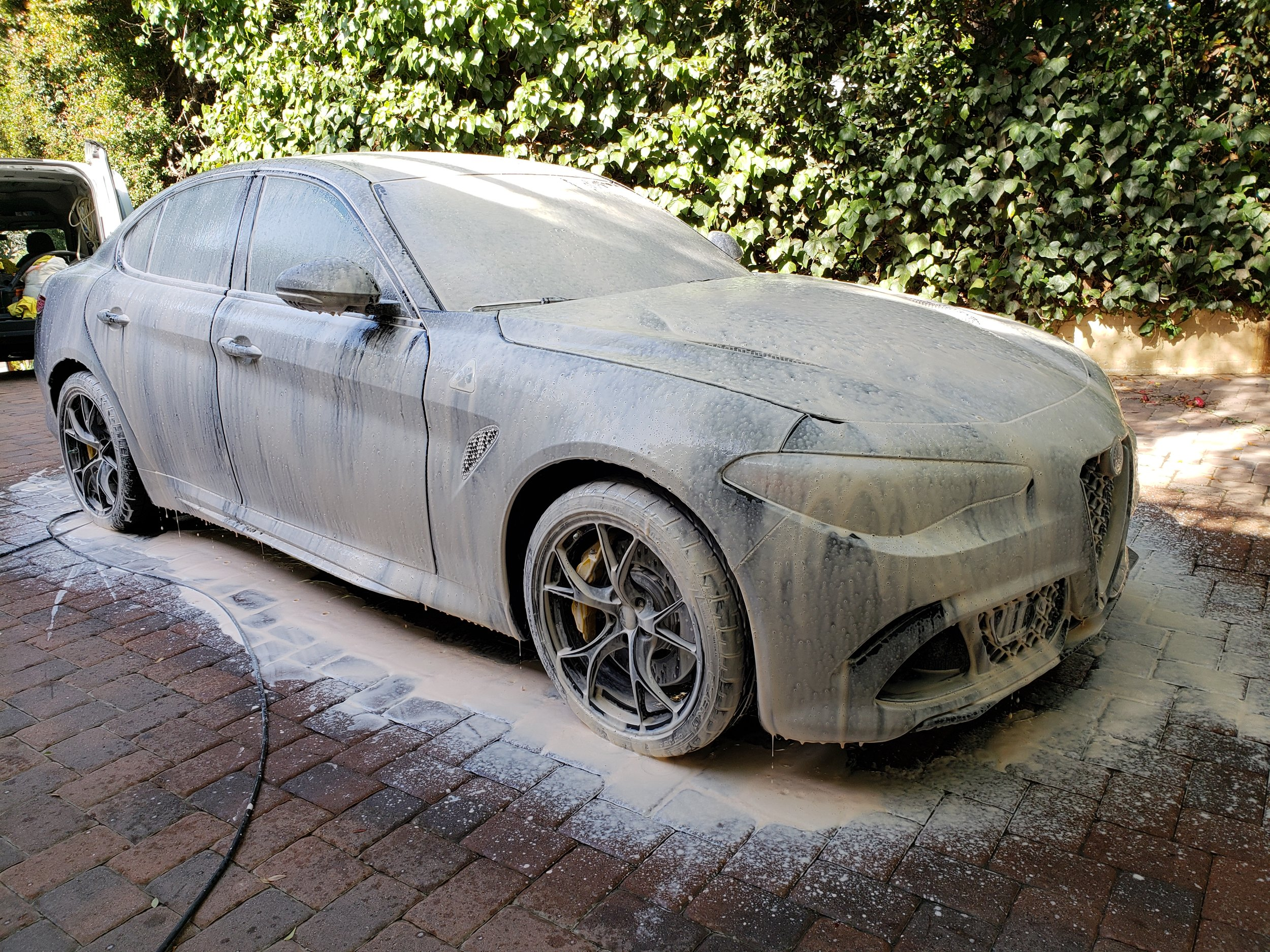 mobile foam wash