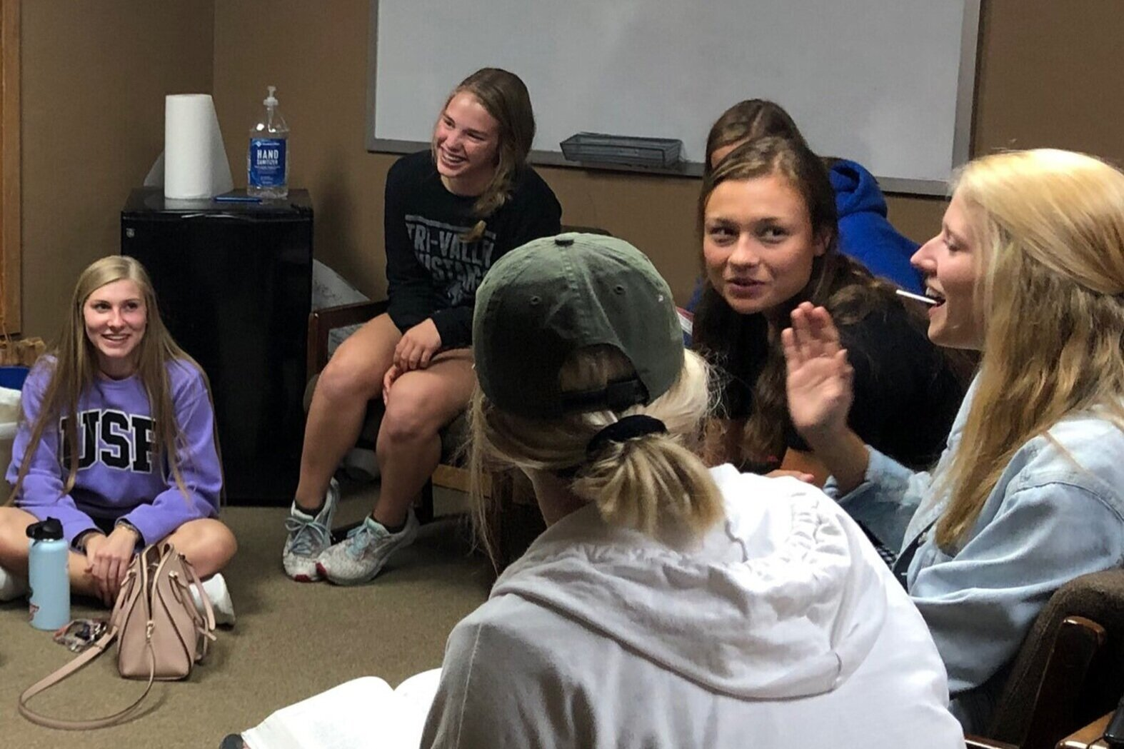Get Connected - Getting involved can help you to connect and develop relationships with other Christ-followers.