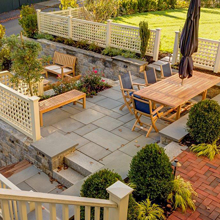 Patio Sitting Areas -