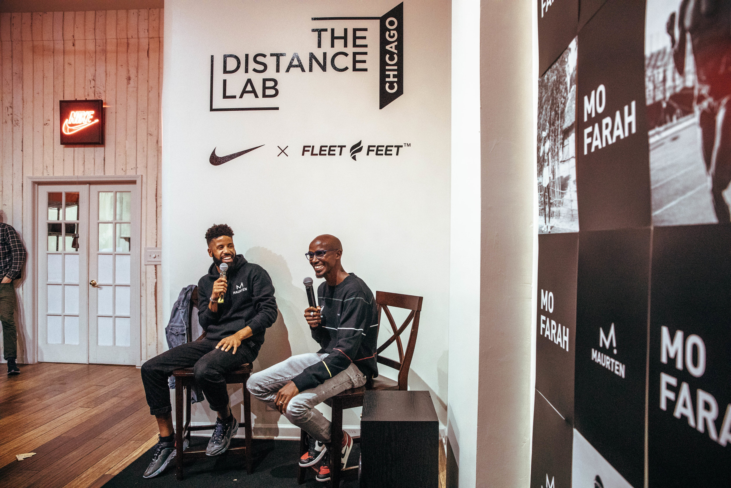 Q&A with Mo Farah and Knox Robinson. - Curating unique experiences in a retail space allowed us to build new customers and re-engage old customers.