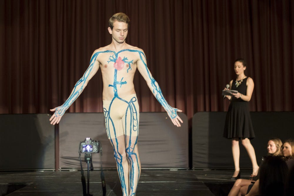 Copy of Phi Delta Epsilon Anatomy Fashion Show - Simon Fraser University