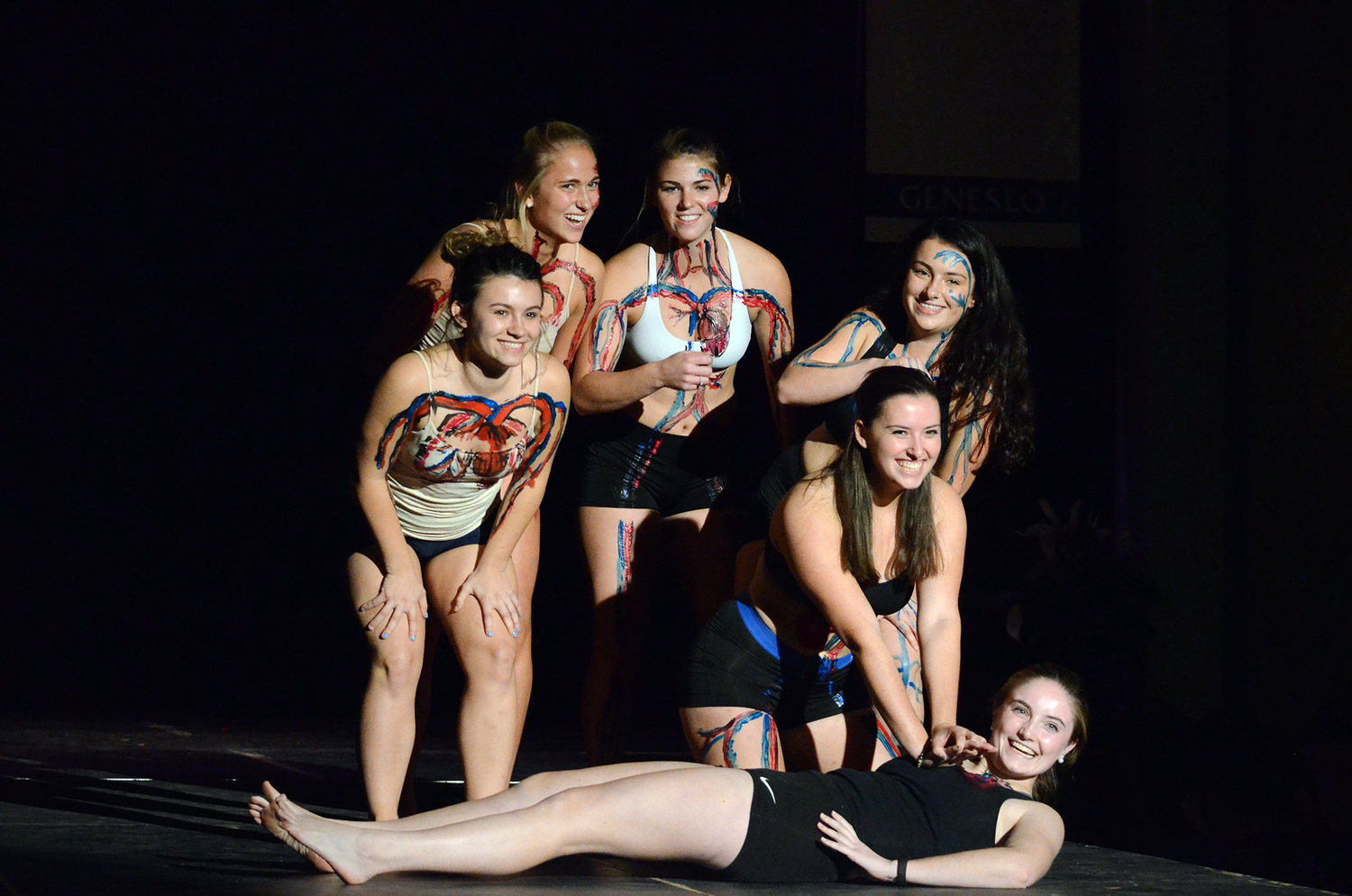 Copy of Phi Delta Epsilon Anatomy Fashion Show - State University of New York at Geneseo