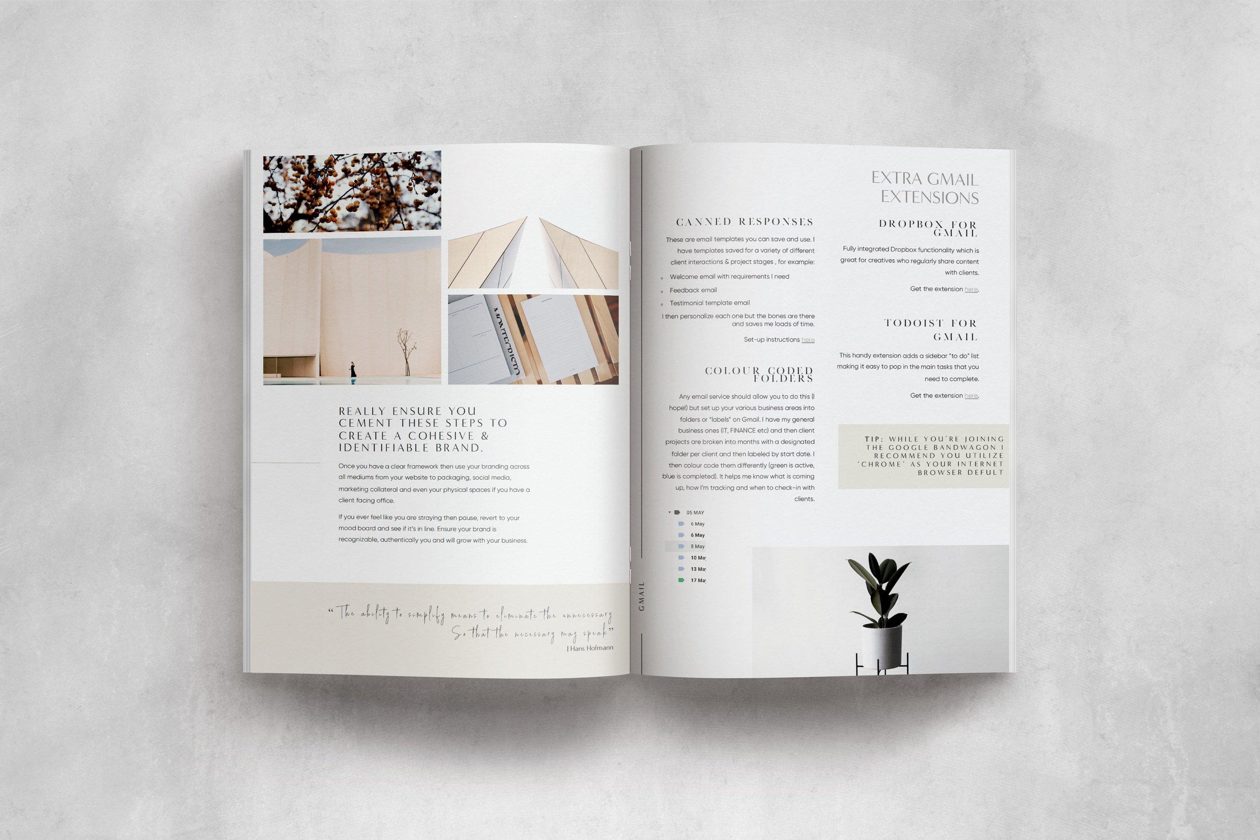 Creative foundations ebook - Half Light Studio